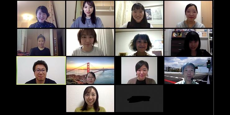 津田塾大学の学生さん達を中心に「不妊とキャリアの関わり」についてのオンライン講演を実施