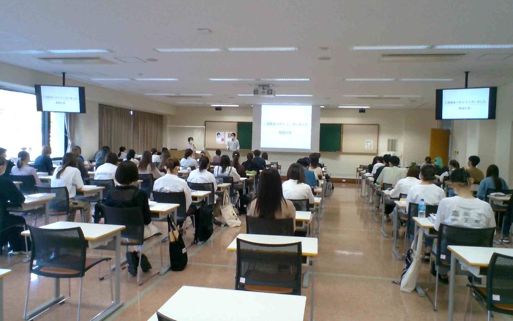 日本赤十字秋田看護大学で講義を行いました